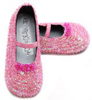 Boo Kitty Kids Baby Girl Pink Sequin Special Occasion Dress Shoes