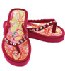 Luna Kicks Girls Shoes Trendy Pink Sequin Flip Flops Sandals Girl