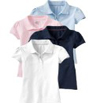 old navy girls uniform-polo shirts 4 pack sale