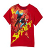 Kids Headquarters - Licensed apparel  Boys 2-7 Spiderman T-Shirt,Red